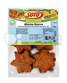 Produktabbildung: SOTO vegetarische Spezialitäten Glücks-Sterne 250 g