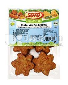 Produktabbildung: SOTO vegetarische Spezialitäten Gute Laune-Sterne 250 g
