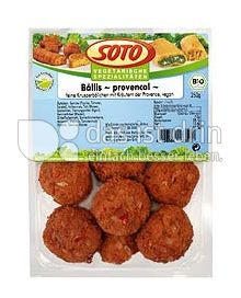 "Produktabbildung: SOTO vegetarische Spezialitäten Bällis ""provencal"" 250 g"