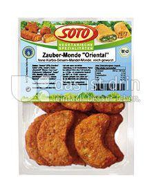 """Produktabbildung: SOTO vegetarische Spezialitäten Zauber-Monde """"Oriental"""" 220 g"""