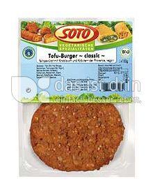"Produktabbildung: SOTO vegetarische Spezialitäten Tofu-Burger ""classic"" 200 g"