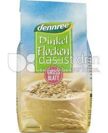Produktabbildung: dennree Dinkelflocken Großblatt 500 g