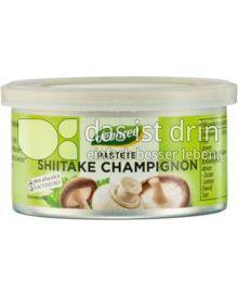 Produktabbildung: dennree Pastete Shiitake Champignon 125 g