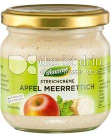 Produktabbildung: dennree Streichcreme Apfel Meerrettich 180 g