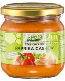 Produktabbildung: dennree Streichcreme Paprika Cashew 180 g