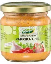 Produktabbildung: dennree Streichcreme Paprika Chili 180 g