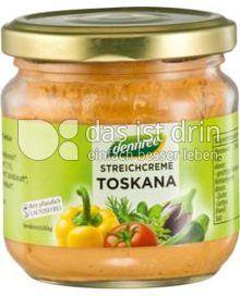 Produktabbildung: dennree Streichcreme Toskana 180 g