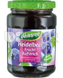Produktabbildung: dennree Heidelbeer-Fruchtaufstrich 340 g