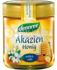 Produktabbildung: dennree Akazienhonig lieblich-mild 500 g