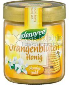 Produktabbildung: dennree Orangenblütenhonig 500 g