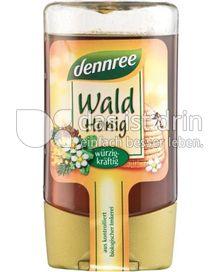Produktabbildung: dennree Waldhonig mild-edelherb 250 g