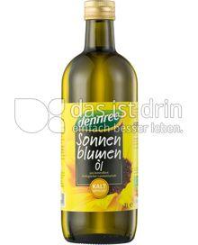 Produktabbildung: dennree Sonnenblumenöl kalt gepresst 1 l