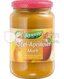 Produktabbildung: dennree Apfel-Aprikosen-Mark 360 g