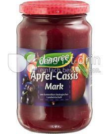 Produktabbildung: dennree Apfel-Cassis-Mark 360 g