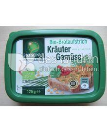Produktabbildung: Bio Sonne Bio-Brotaufstrich Kräuter Gemüse 125 g