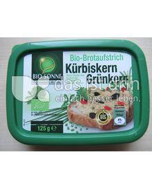 Produktabbildung: Bio Sonne Bio-Brotaufstrich Kürbiskern Grünkern 125 g