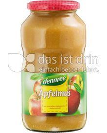 Produktabbildung: dennree Apfelmus 700 g