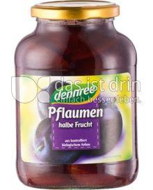 Produktabbildung: dennree Pflaumen entsteint 580 ml