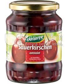 Produktabbildung: dennree Sauerkirschen in Agavendicksaft 720 ml