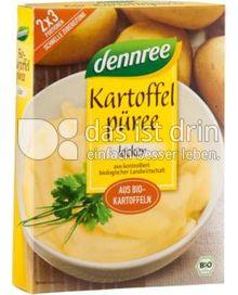 Produktabbildung: dennree Kartoffelpüree locker & cremig 160 g