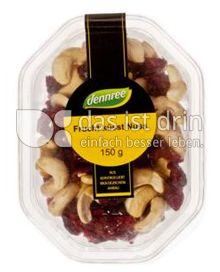 Produktabbildung: dennree Frucht küsst Nuss 150 g