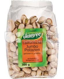 Produktabbildung: dennree Californische Jumbo-Pistazien gerösten & gesalzen 300 g