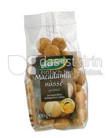 Produktabbildung: dennree Macadamianüsse geröstet, mit Honig 100 g