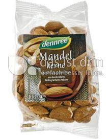 Produktabbildung: dennree Mandelkerne geröstet & gesalzen 100 g