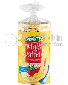 Produktabbildung: dennree Maiswaffeln mit Meersalz 110 g