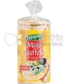 Produktabbildung: dennree Maiswaffeln ohne Salz 110 g