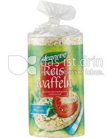 Produktabbildung: dennree Reiswaffeln mit Meersalz 100 g