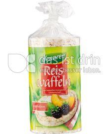 Produktabbildung: dennree Reiswaffeln ungesalzen 100 g