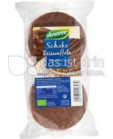 Produktabbildung: dennree Schokoreiswaffeln Vollmilch 100 g