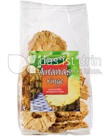 Produktabbildung: dennree Ananasringe 100 g
