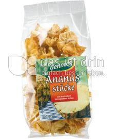 Produktabbildung: dennree Ananasstücke 100 g