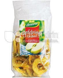 Produktabbildung: dennree Apfelringe geschält 125 g
