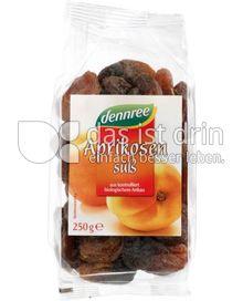 Produktabbildung: dennree Aprikosen süß 250 g