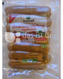 Produktabbildung: Alnatura Bratwürstchen vegetarisch 250 g