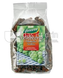 Produktabbildung: dennree Weinbeeren Thompson Seedless 500 g