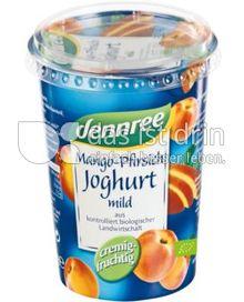 Produktabbildung: dennree Mango-Pfirsichjoghurt mild 500 g