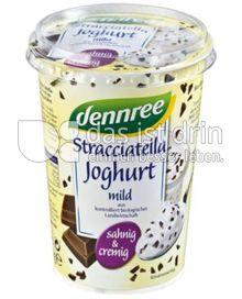 Produktabbildung: dennree Stracciatella Joghurt mild 500 g
