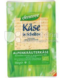 Produktabbildung: dennree Alpenkräuterkäse 150 g