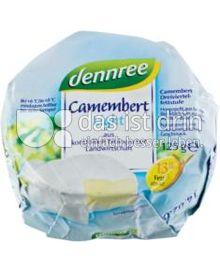 Produktabbildung: dennree Camembert light 125 g