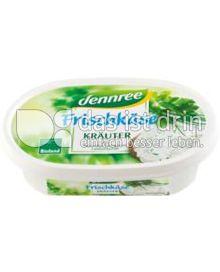 Produktabbildung: dennree Frischkäse Kräuter 150 g
