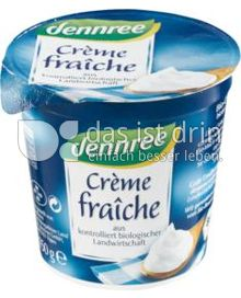 Produktabbildung: dennree Crème fraîche 150 g