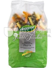 Produktabbildung: dennree Hartweizen-Fusilli Tricolori 500 g