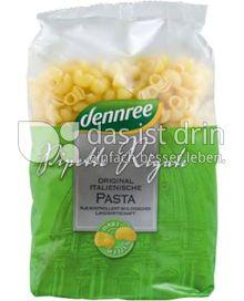 Produktabbildung: dennree Hartweizen-Pipette Rigate 500 g