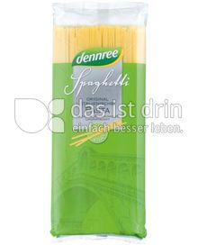 Produktabbildung: dennree Hartweizen-Spaghetti 500 g