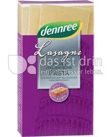Produktabbildung: dennree Hartweizen-Vollkorn-Lasagne 250 g