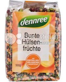 Produktabbildung: dennree Bunte Hülsenfrüchte 500 g